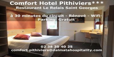 logo comfort hotel pithiviers